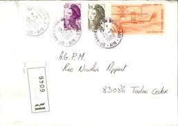 FRANCE - Enveloppe Envoyée D´une Base Aérienne - Pour étude Des Bases - Détaillons Collection - A Voir - Lot N° 21084 - Air Post