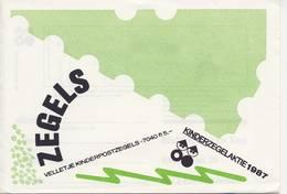 1390 / Blok Kinderzegels 1987 (100% Postfris / MNH) Met Envelop En Rebus - Period 1980-... (Beatrix)