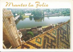 MANTES LA JOLIE. (scan Verso) - Mantes La Jolie