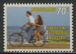Nederland Netherlands Pays Bas 1993 Mi 1460 YT 1424 Sc 1544 ** Cycling / Fahrrad / Bicyclette / Fiets - RAI 1893-1993 - Wielrennen