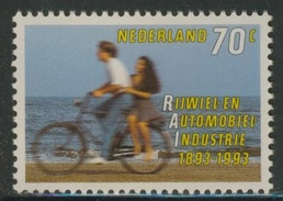 Nederland Netherlands Pays Bas 1993 Mi 1460 YT 1424 Sc 1544 ** Cycling / Fahrrad / Bicyclette / Fiets - RAI 1893-1993 - Andere (Aarde)