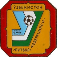Football Soccer. Pin AFC – Asian Football Confederation. Uzbekistan - Football
