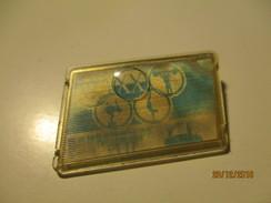 RUSSIA USSR 1972 MÜNCHEN  OLYMPICS , STEREO, PIN BADGE , O - Giochi Olimpici