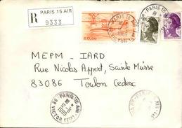 FRANCE - Enveloppe Envoyée D´une Base Aérienne - Pour étude Des Bases - Détaillons Collection - A Voir - Lot N° 21091 - Air Post