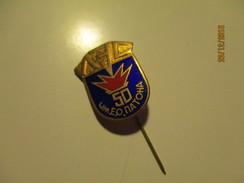 UKRAINE KIEV PATON`S INSTITUTE OF ARC WELDING, PIN BADGE , O - Badges