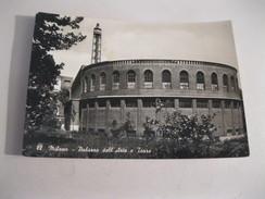 MILANO Palazzo Dell Arte E Torre   Cartolina  Viaggiata F/G 1951 - Milano (Milan)