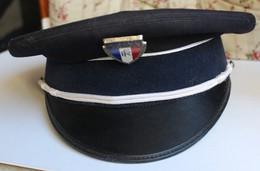 Ancienne Casquette Police Municipale Bidermann Uniformes - Polizia