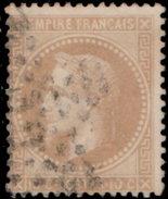 France 1862. ~ YT 21 (2) - 10 C. Napoléon III - 1862 Napoleon III