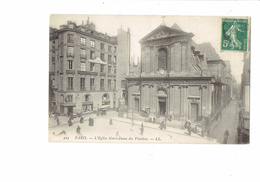 75 - PARIS - Eglise Notre-Dame Des Victoires - 923 LL - Crèche Du Mail / Société D'Assurance Par Le Travail - Andere