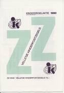 1460 / Blok Kinderzegels 1990 (100% Postfris / MNH) Met Envelop En Rebus - Period 1980-... (Beatrix)