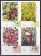 Australia 2013 Carnivorous Plants Block Of 4 Self-adhesives MNH - 2010-... Elizabeth II