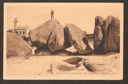 23 BRIGNOGAN ( Finistère) Les Rochers De La Plage Pontusval ( G. Artaud éditeur ) - Brignogan-Plage