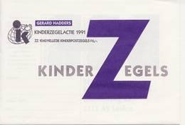 1486 / Blok Kinderzegels 1991 (100% Postfris / MNH) Met Envelop En Rebus - Period 1980-... (Beatrix)