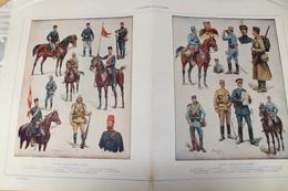 -WW1-Types Militaires Turcs-Types Militaires Serbes- - 1914-18