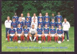 France PAP Neuf Pret à Poster Football Coupe Du Monde 98 1998 Carte Entier Postal Equipe De France Championne Du Monde - 1998 – France