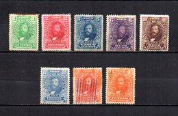 Honduras  1903 .-   Y&T  Nº   92/99       ( Oxido  En  92 Y 98   ) - Honduras