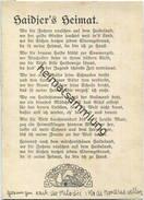 Liederkarte - Haidjers Heimat - Verlag Edmund Hahn Lüneburg - Allemagne