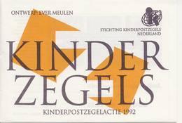 2 X 1541 / Blok Kinderzegels 1992 (100% Postfris / MNH) Met Envelop En Rebus - Period 1980-... (Beatrix)