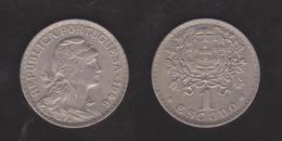PORTUGAL  1 ESCUDO 1.946  Cu Ni/ALPACA  KM#578   SC/UNC  DL-12.019 - Mezclas - Monedas