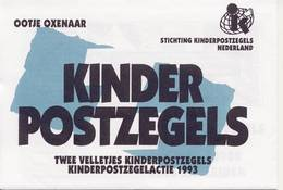 2 X 1578 / Blok Kinderzegels 1993 (100% Postfris / MNH) Met Envelop En Rebus - Period 1980-... (Beatrix)