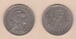 PORTUGAL  1 ESCUDO 1.946  Cu Ni/ALPACA  KM#578   MBC/VF DL-12.020 - Mezclas - Monedas