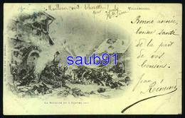 Villersexel - La Bataille Du 9 Janvier 1971   -  Précurseur  Circulé En 1904 - Réf: 34348 - France