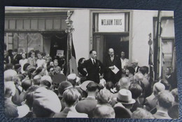 Cpa/pk Maaseik 1945 Collaboratie Kaart Toespraak Jules Demey Om Landverraders Op Te Sluiten. - Maaseik