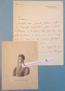 L.A.S 1913 Marquis Melchior De POLIGNAC - REIMS Marne Fondateur Maison POMMERY - Homme D'affaires Lettre Autographe LAS - Autografi