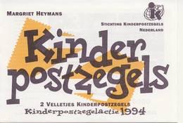 2 X 1627 / Blok Kinderzegels 1994 (100% Postfris / MNH) Met Envelop En Rebus - Period 1980-... (Beatrix)
