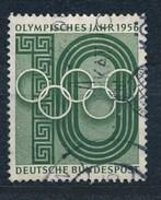 BRD Mi. 231 Gest. Olympische Spiele Melbourne 1956 Olympische Ringe