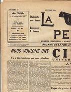 Journal Ancien étudiant Université De Liège LA PENNE Février 1954 - Journaux - Quotidiens