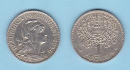 PORTUGAL  1 Escudo   1.940    Cu Ni   KM#578   MBC/VF      DL-12.022 - Portugal