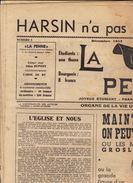 Journal Ancien étudiant Université De Liège LA PENNE Décembre 53 - Journaux - Quotidiens