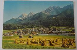 989 - Cartolina S.Candido Innichen Panorama Coi Covoni Viaggiata 1982 - Italie