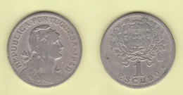PORTUGAL  1 Escudo   1.940    Cu Ni   KM#578   MBC-/VF-      DL-12.023 - Portugal