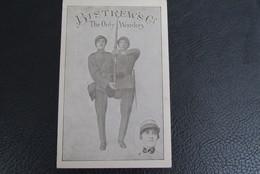 Cpa/pk Militaria Bistrew's Co The Only Wonders Numbered Card Ten Voordele Oorlogsslachtoffers Amis Des Invades WO 1 War - Patriottisch