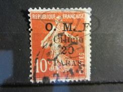 "VEND TIMBRE DE CILICIE N° 82 , SURCHARGE "" O.M.F. "" DECALEE !!!! - Cilicie (1919-1921)"