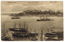 RB 1137 - Early Postcard - Steam Ships Pointe Du Serail - Constantinople Turkey - Maritime - Turkey