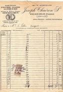 29 RIEC Sur BELON  Ostréiculture  Ets Joseph THAERON  Sr  1914 - France