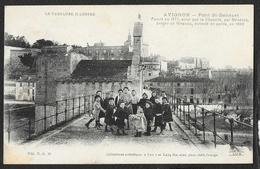 AVIGNON Pont St Bénézet Enfants (Lang Lux NG) Vaucluse (84) - Avignon (Palais & Pont)