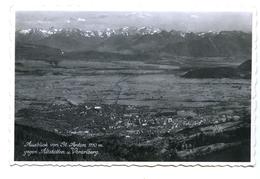 Ausblick Von St. Anton Gegen Altstätten Und Vorarlberg, 1953 - Austria