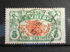"""VEND TIMBRE DE LA REUNION N° 59 , CACHET """" SAINT - DENIS """" !!!! - Reunion Island (1852-1975)"""
