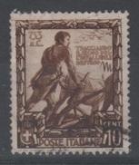1938 Impero Valore Singolo Usato - 1900-44 Vittorio Emanuele III