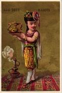 12 CardsPubl.Au Deux Magots Par. Imp.Barousse C1900 Costumes Cosaque Holland Italie Russia Havana France Scotland Turkey - Other