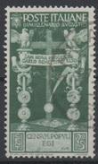 1937 Augusto Valore Singolo Usato - 1900-44 Vittorio Emanuele III