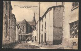 CHAVAGNES En PAILLERS Rare Avenue De La Gare (Combier) Vendée (85) - France