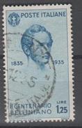 1935 Bellini Valore Singolo Usato - 1900-44 Vittorio Emanuele III