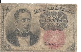 USA 10 CENTS VG - Non Classificati