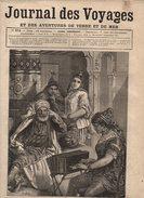 Journal Des Voyages Et Des Aventures De Terre Et De Mer N°374 Les Populations De La Tunisie - Esquimau De L'île De Disco - 1850 - 1899