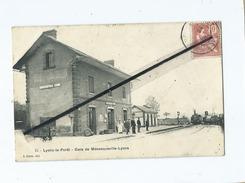 CPA -  Lyons La Forêt - Gare De Ménesqueville -Lyons - Lyons-la-Forêt